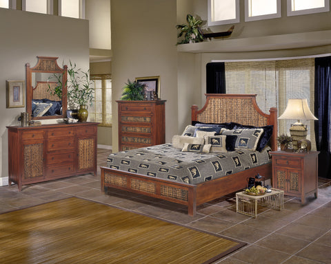Fiji Complete King Size Bed