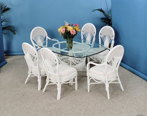 Liberty 7 Piece Dining set with 2 arm chairs and 4 side chairs