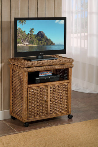 West Indies Low TV Cart