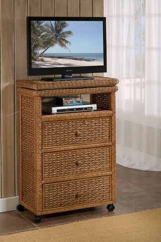 West Indies Tall TV Cart