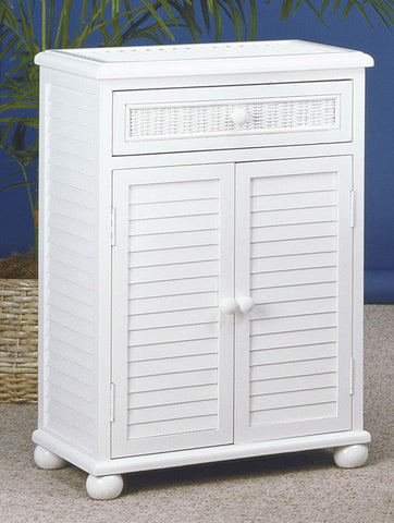 Wicker Seaside Cabinet 2 Door