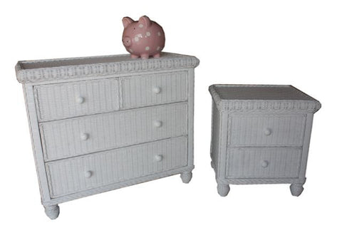 South Shore 4 Drawer Split Chest