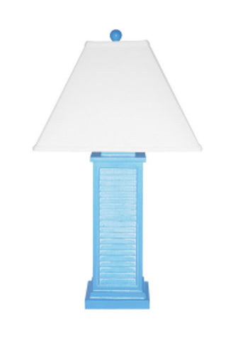 Louvered Table Lamp PR151BL