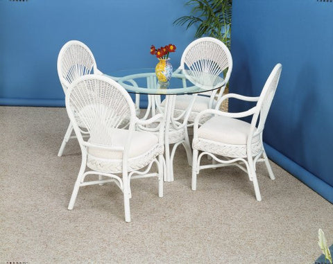 Liberty 5 Piece Dining Set with 4 Arm Chairs