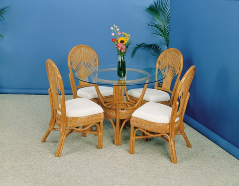 "Liberty 5 piece dining set with side chairs and 48"" table"