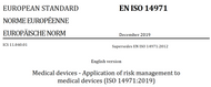 Gap Assessment Template - Risk Management - ISO 14971:2019 vs 2007 vs Europe MDR