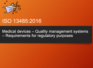 Training Webinar Private - ISO 13485:2016 Quality Management System