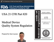 Training Slides - US FDA 21 CFR 820 Quality System Regulation (100+ native PowerPoint slides)