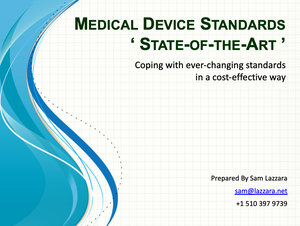 Training Webinar Private - Standards State-of-the-Art