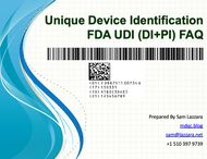 Training Webinar Private - US FDA Unique Device Identification (UDI)