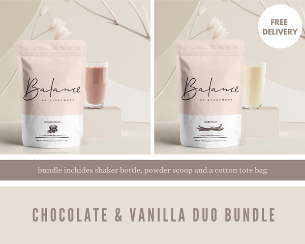 Balance by Everymoon Chocolate & Vanilla Duo Starter Bundle