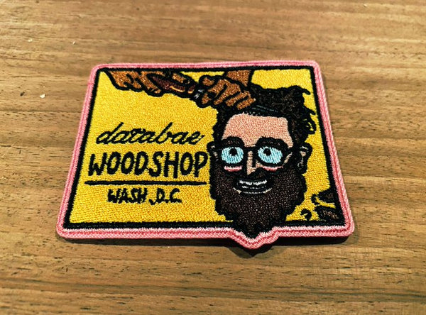 databae woodshop patch