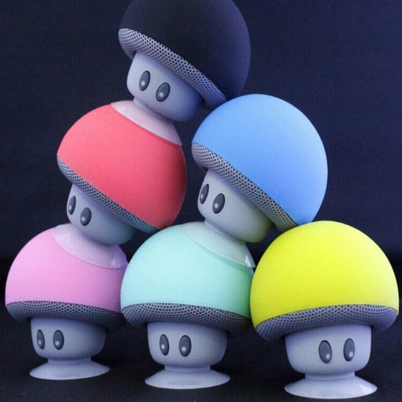 ♥ Kawaii Sound Box Mushroom Heads Bluetooth Portable Gaming Speakers ♥ - MakersFolly®
