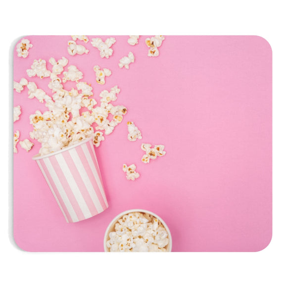 ♥ Kawaii Popcorn Lovers Mouse Pad ♥ - MakersFolly®