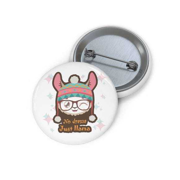 ♥ No Drama Llama Custom Fashion Pin ♥ - MakersFolly®