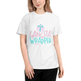 ♥ Adult Unisex Gangsta Wrapper Organic Sustainable Tee ♥ - MakersFolly®