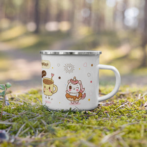 ♥ Kawaii Breakfast Enamel Mug ♥ - MakersFolly®