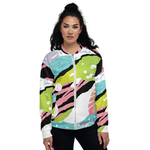 ♥ 80s Fashion Bomber Jacket ♥ - MakersFolly®