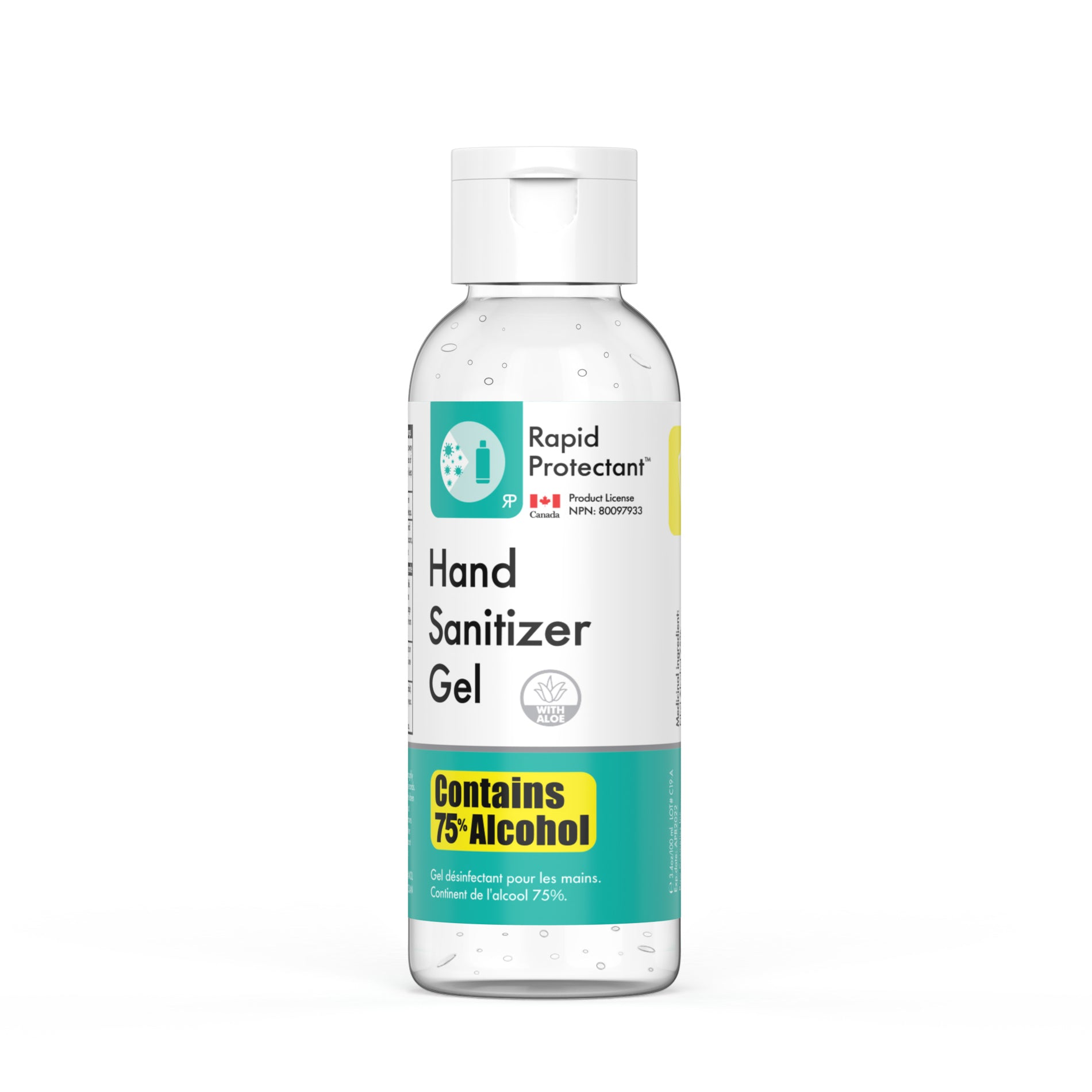 Rapid Protectant Hand Sanitizer Gel 100ml