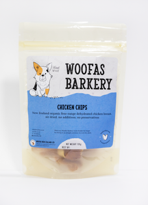 organic free range chicken breast dog treat