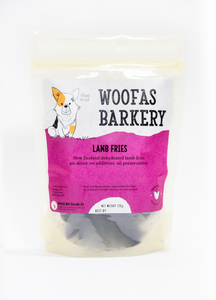 New Zealand Lamb liver dog treat