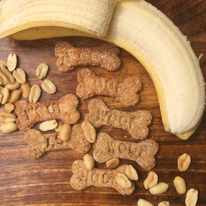 Woofas wholesome natural peanut butter dog treat