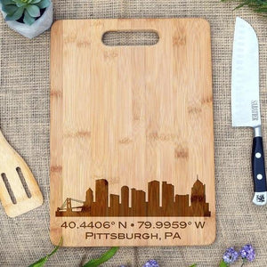 Skyline City Rectangular Board