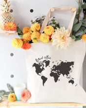Load image into Gallery viewer, Travel Often Cotton Canvas Tote Bag
