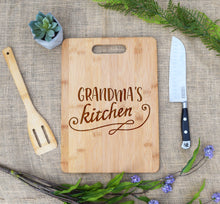 Load image into Gallery viewer, Grandma's KItchen Rectangular Board