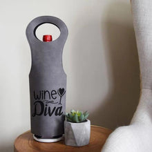 Load image into Gallery viewer, Wine Diva Wine Bag