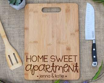 Home Sweet Apartment Rectangular Board