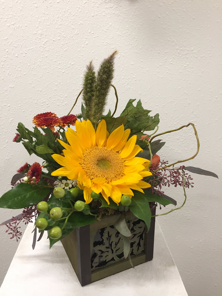 Sunflower and Blooms Box