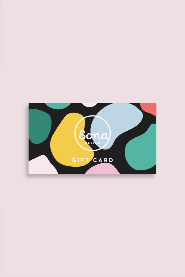 Gift Card - Sona Design