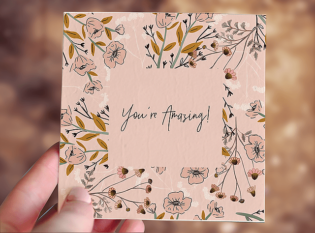 You're Amazing Plantable Gift Card