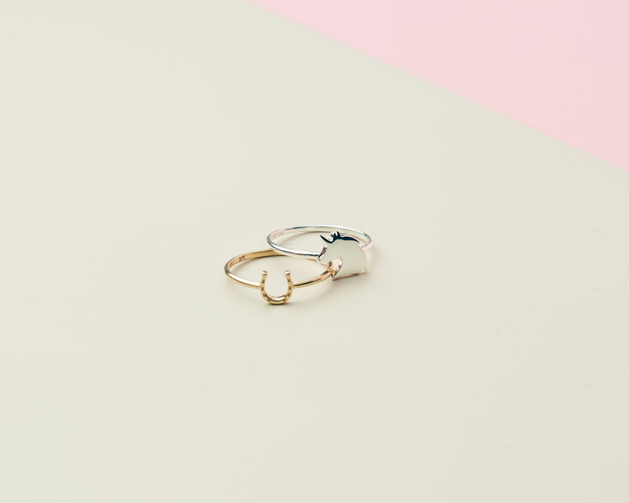 Mini Horseshoe Ring