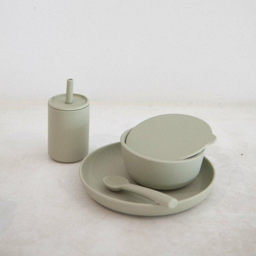 Silicone Dinner Set Oyster