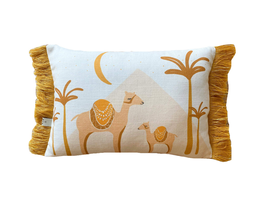 Golden Camel Cushion