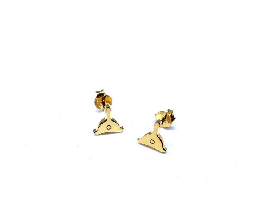 Whistle Studs 18K Gold