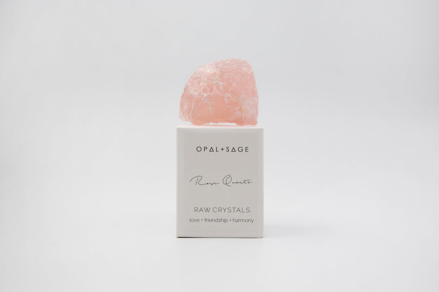 Rose Quartz Raw Crystal
