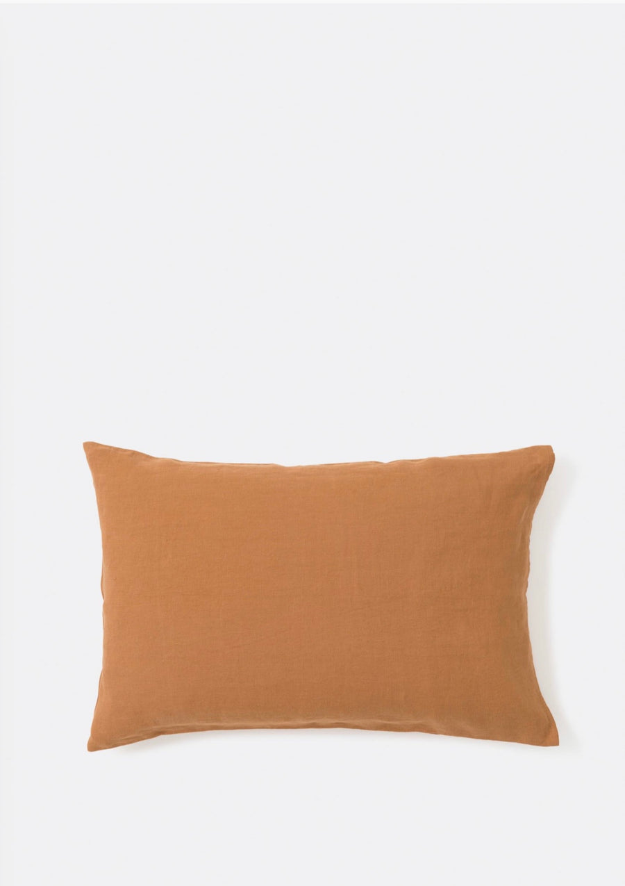 Linen Pillowcase Pair Toast