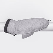 Hundemantel Brooklyn Flanell Grey