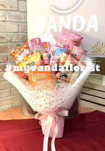 Sweet moment Snack bouquet