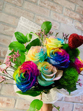 Load image into Gallery viewer, Rainbow Roses