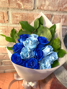 Mixed Blue/Sky Blue Roses