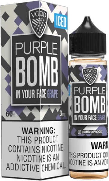 Iced Purple Bomb (In Your Face Grape)