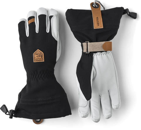 Army Leather Patrol Gauntlet Glove Men's - Hestra - Chateau Mountain Sports
