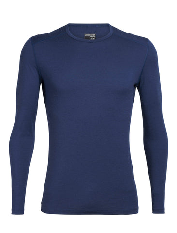 200 Oasis Long Sleeve Crew Men's - Icebreaker - Chateau Mountain Sports