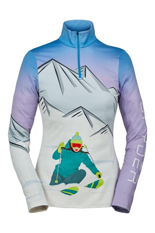 Shred Zip T-Neck Women's - Spyder - Chateau Mountain Sports