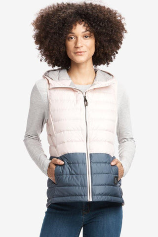 Rose Colorblock Vest - Lole - Chateau Mountain Sports