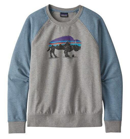 Fitz Roy Bison Ahnya Sweatshirt Women's - Patagonia - Chateau Mountain Sports